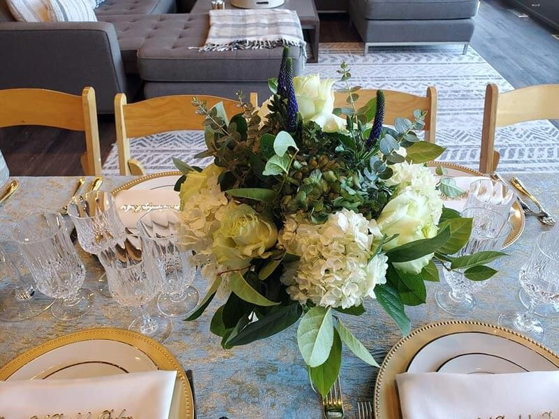 wedding and event floral decor