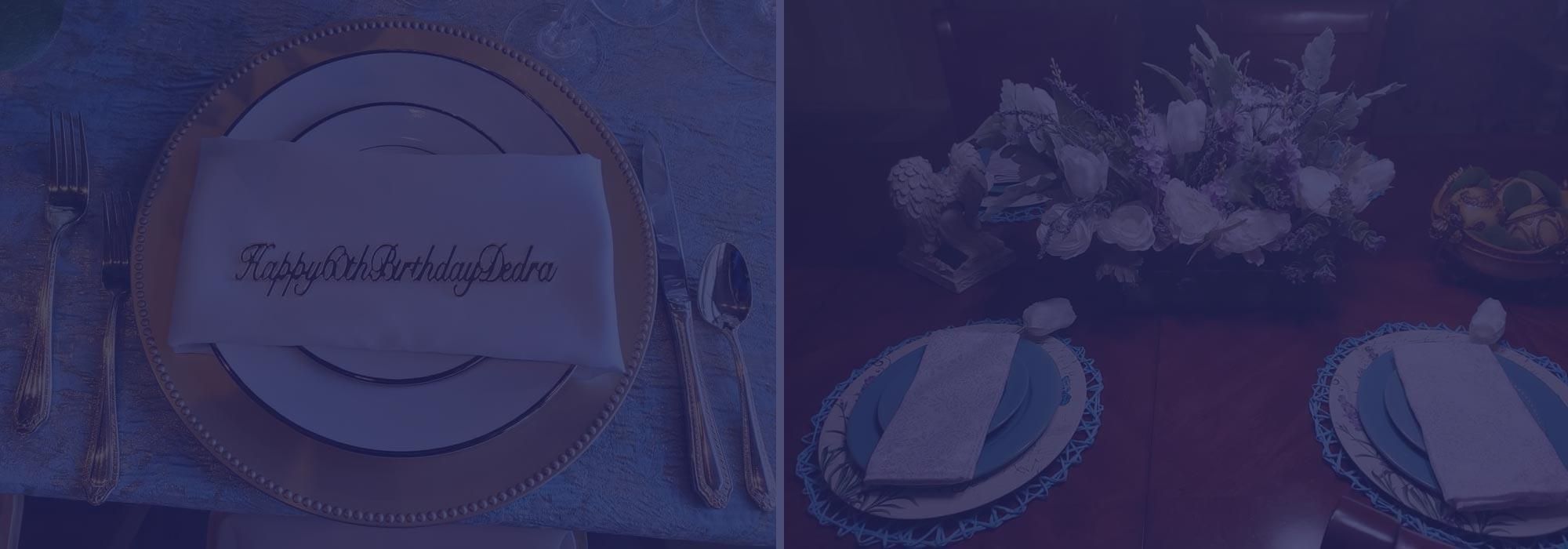 regal wedding and event decor